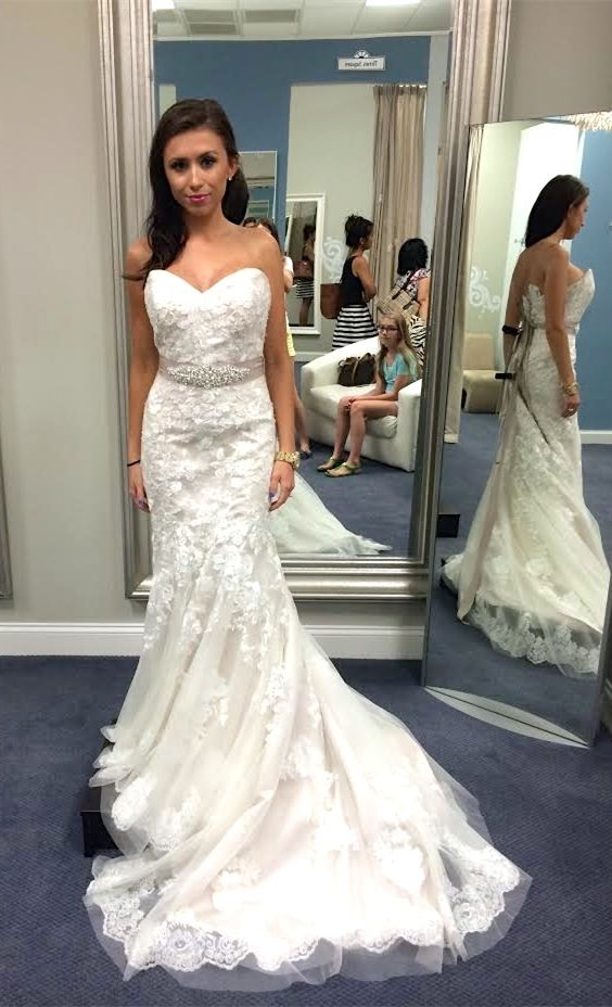 Свадьба - Mermaid Sweetheart Sweep Train Wedding Dress With Beading