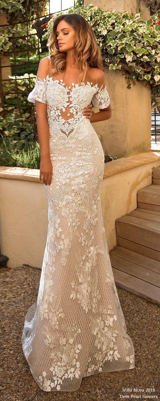 Mariage - 20 Romantic Off The Shoulder Wedding Dresses
