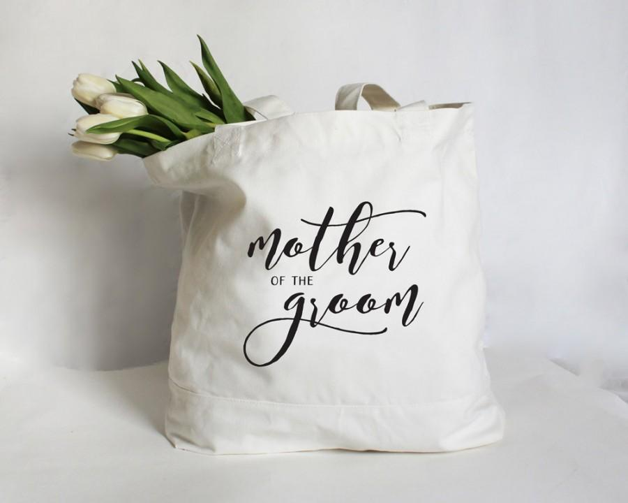 Свадьба - Mother of the Groom Tote, Mother of the Bride Tote, Mother of the Bride Bag, Personalized Wedding Party Bag