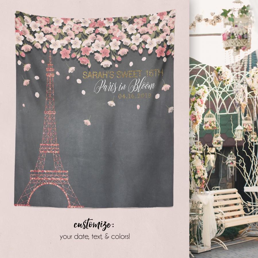 Paris Sweet 16 Paris Theme Party Paris Bridal Shower Eiffel Tower