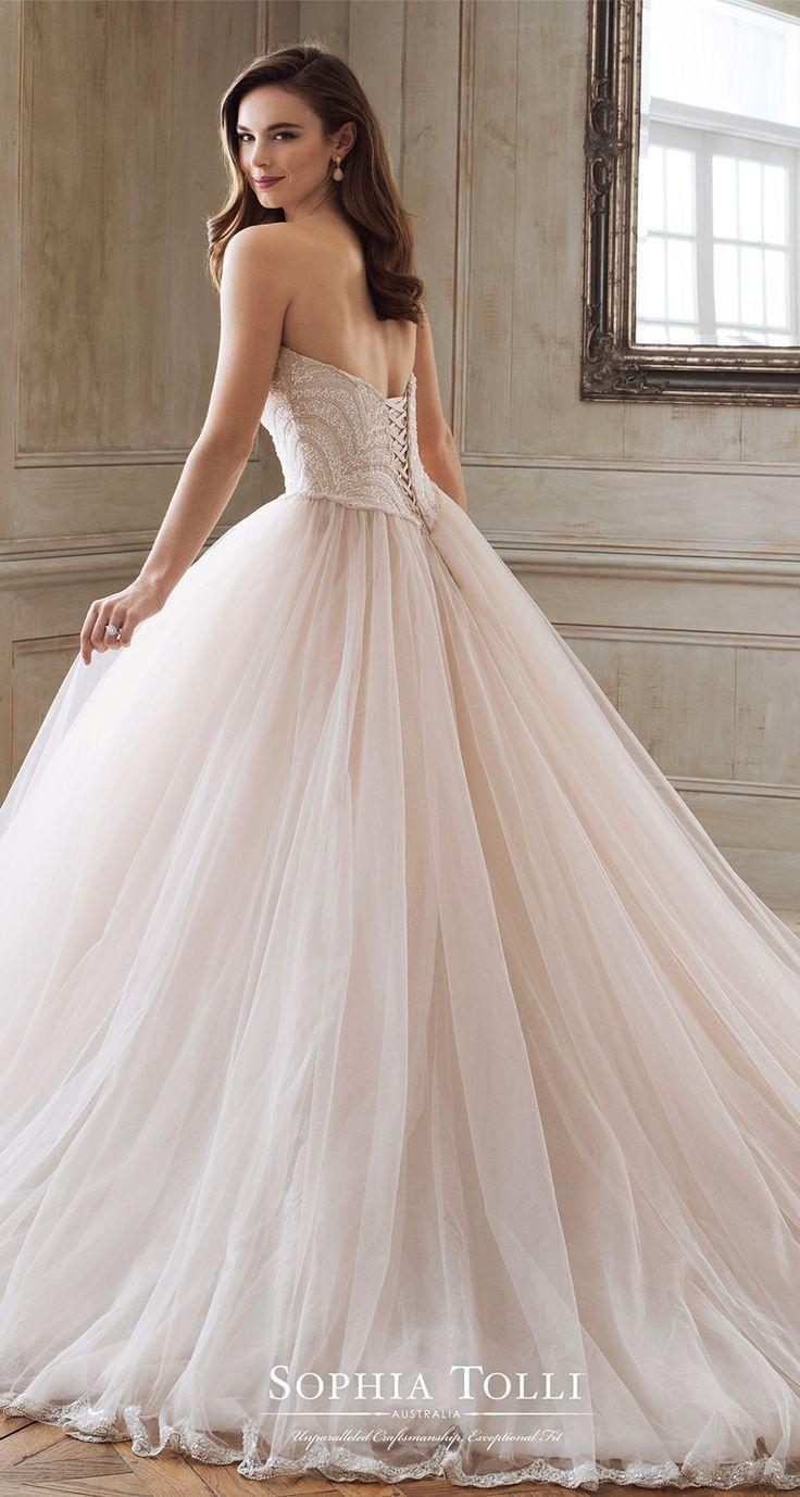 31ff743c606 Spring 2018 Wedding Dresses From Mon Cheri Bridals — Stunning Designs By  Martin Thornburg And Sophia Tolli