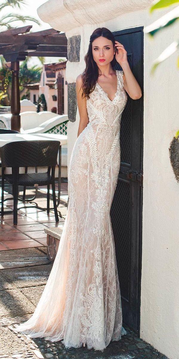 زفاف - 15 Vintage Lace Wedding Dresses Which Impress Your Mind