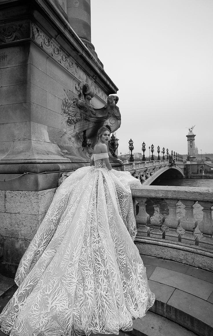 "Wedding - Inbal Dror's Fall 2018 ""Paris"" Wedding Dress Collection"