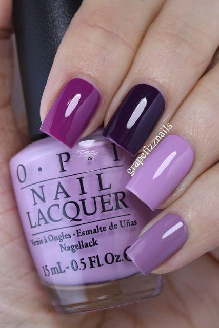 Wedding - Purple Skittle Mani (grape Fizz Nails)