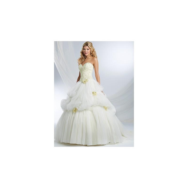 Alfred Angelo Disney Fairy Tale 243 Belle Royal Bride Dress From