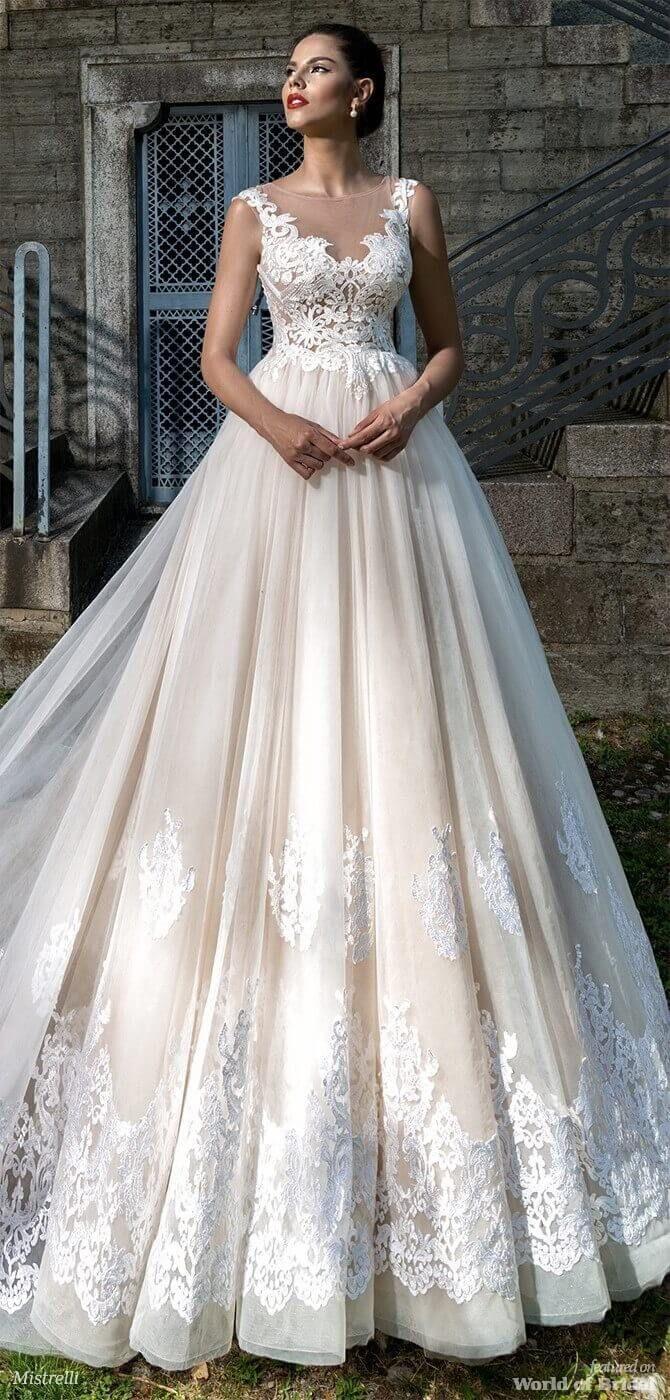 Свадьба - Mistrelli 2018 Wedding Dresses Black Pearl Collection