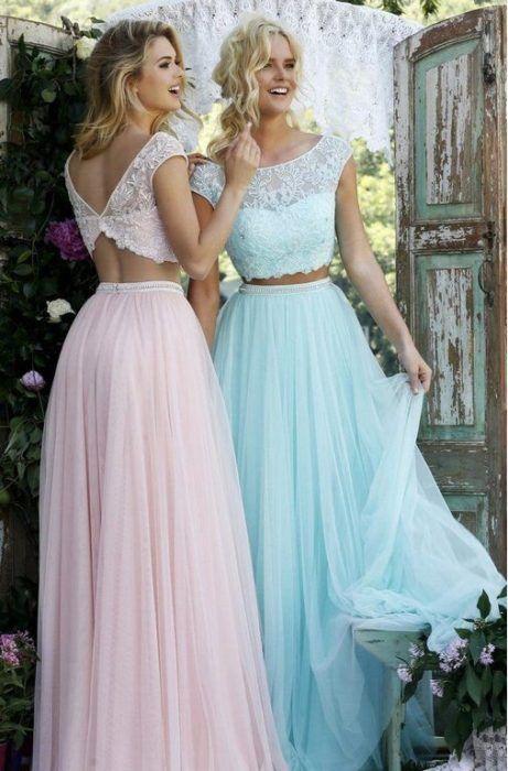 10 Increíbles Vestidos Vintage Que Tus Damas De Honor