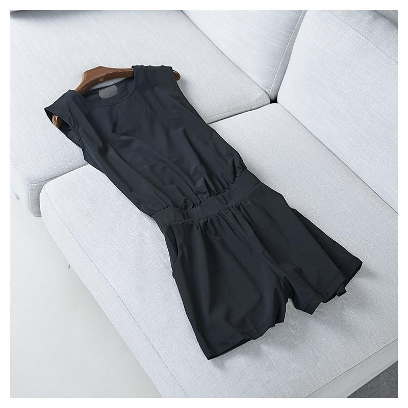 Boda - Vogue Sleeveless Summer Jumpsuit Short - Discount Fashion in beenono