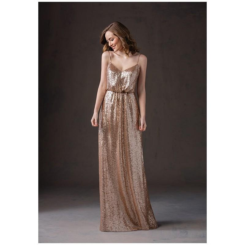 e55880035 Belsoie L184065 - A-Line Gold Sweetheart Floor Empire Plus Size Available -  Formal Bridesmaid Dresses 2018