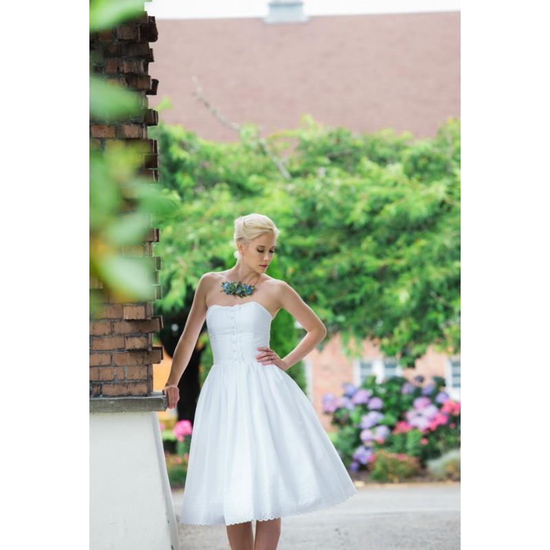 Eyelet Wedding Dress