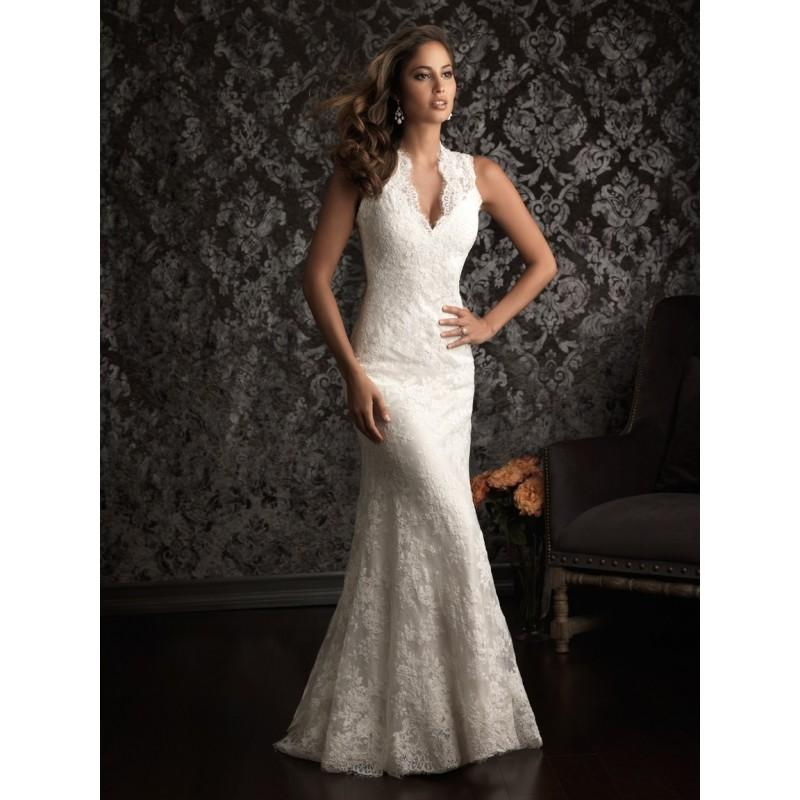 Allure Bridals 9019 Vintage Lace Wedding Dress - Crazy Sale Bridal ...