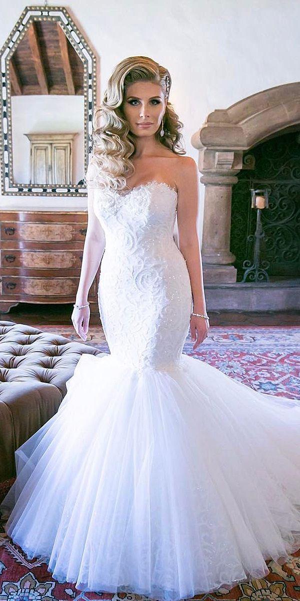 Mariage - 15 Sweetheart Mermaid Wedding Dresses