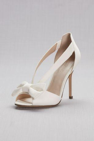 Mariage - Two-Piece Strappy Bow Pumps Style MAIYA