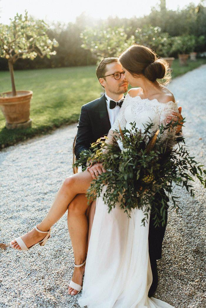 Mariage - Lavish Yet Laid-Back Tuscan Wedding At Villa Passerini