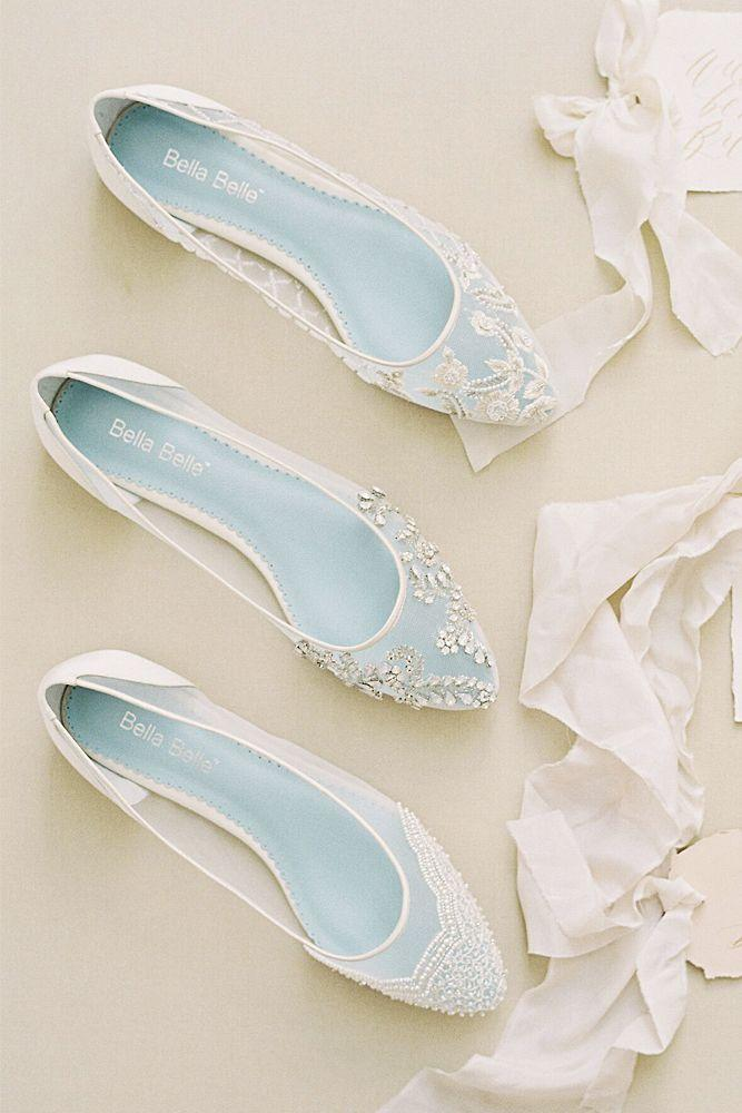 Wedding - 27 Flat Wedding Shoes For Lovers Of Comfort & Style