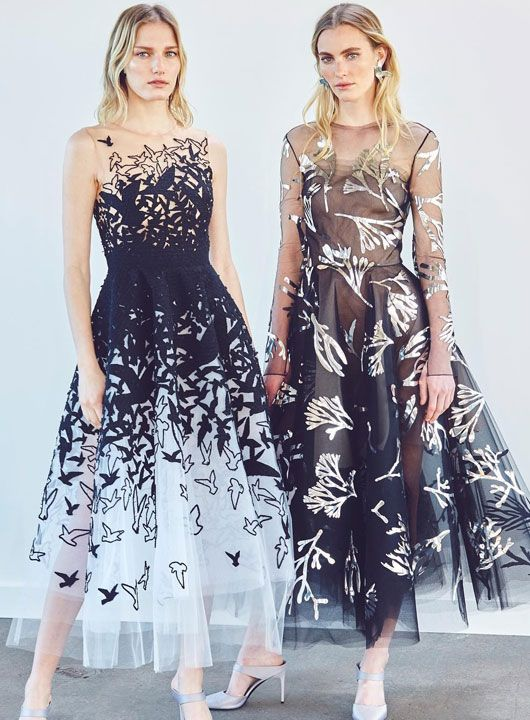 Wedding - The Ultimate B&W Dresses With Breathtaking Embroideries