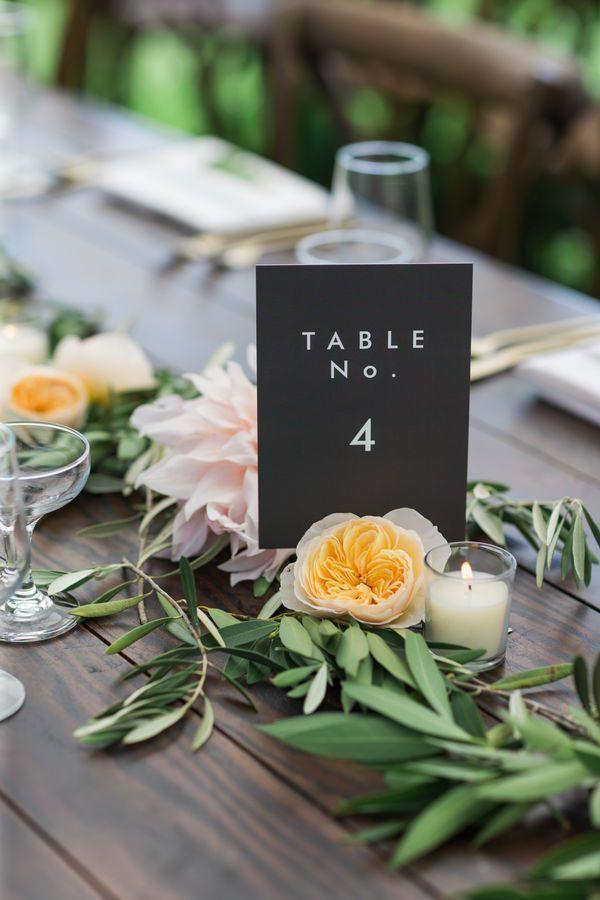 Hochzeit - Wedding Table Numbers
