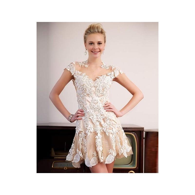Wedding - Jovani Party Dress 90050 - 2018 Spring Trends Dresses