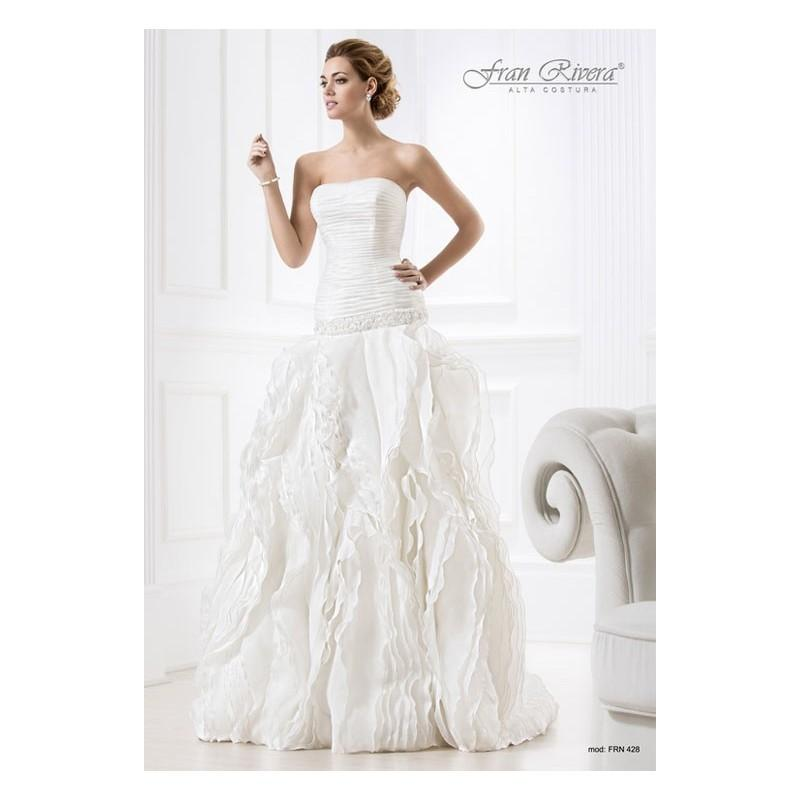 Wedding - Vestido de novia de Fran Rivera Alta Costura Modelo FRN428 - Tienda nupcial con estilo del cordón