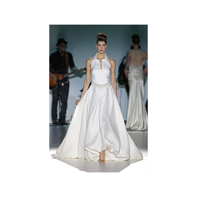 Hochzeit - Isabel Zapardiez 2014 Evasé Otros - Tienda nupcial con estilo del cordón