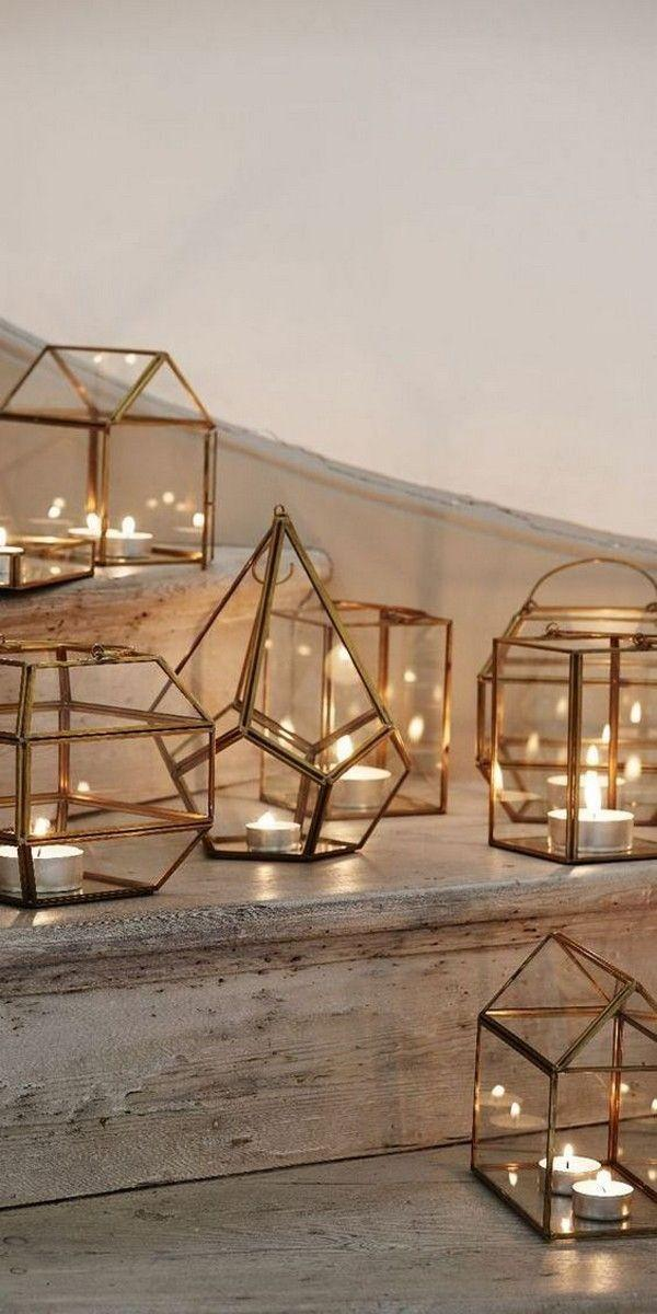 Wedding - 40  Chic Geometric Wedding Ideas For 2018 Trends - Page 4 Of 4