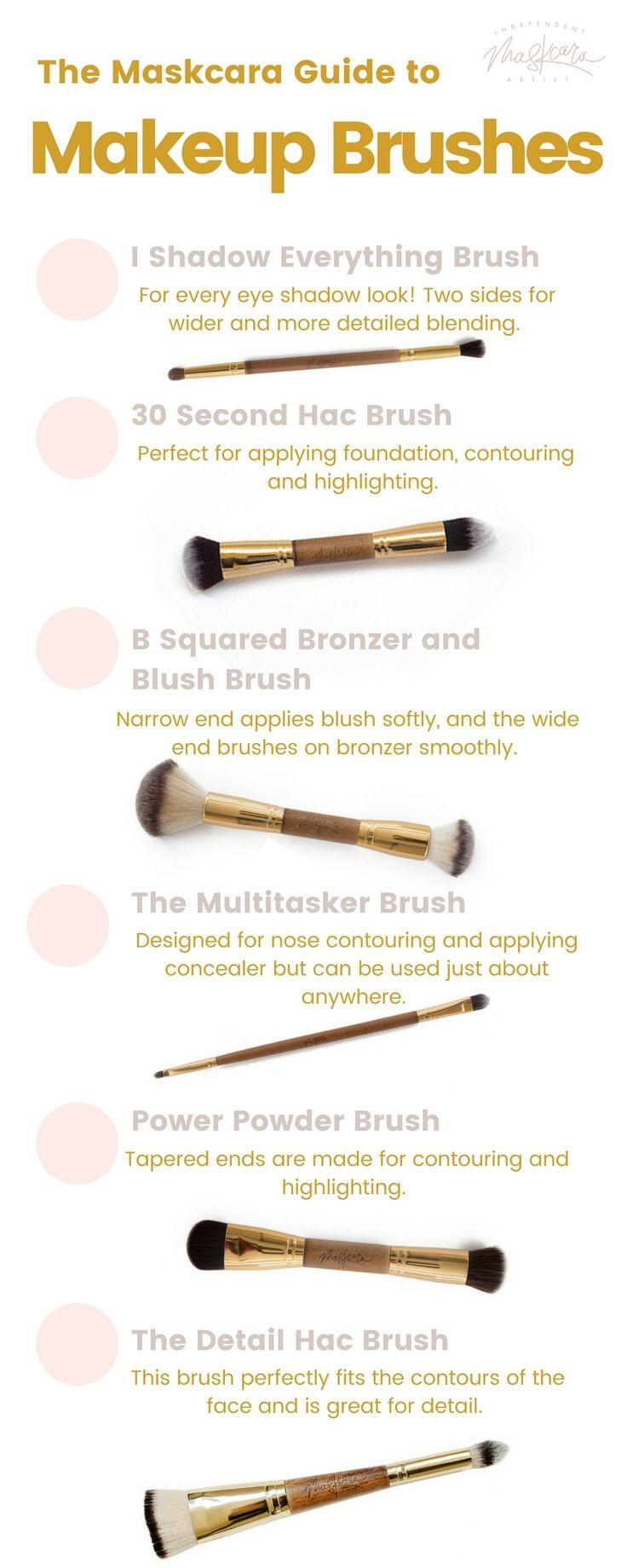 Свадьба - Makeup Brushes 101