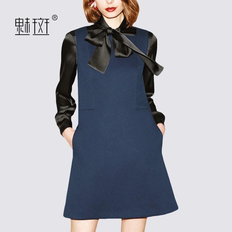 Свадьба - Attractive Split Front Bow Slimming 9/10 Sleeves Pencil Skirt Dress - Bonny YZOZO Boutique Store