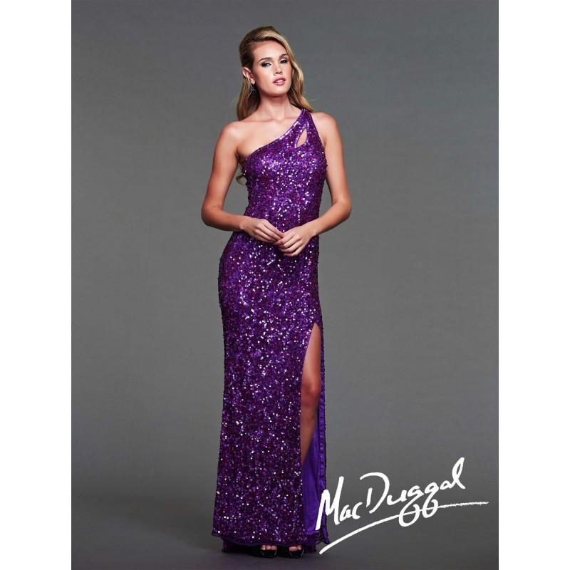 Wedding - Mac Duggal Flash - Style 3389L - Formal Day Dresses