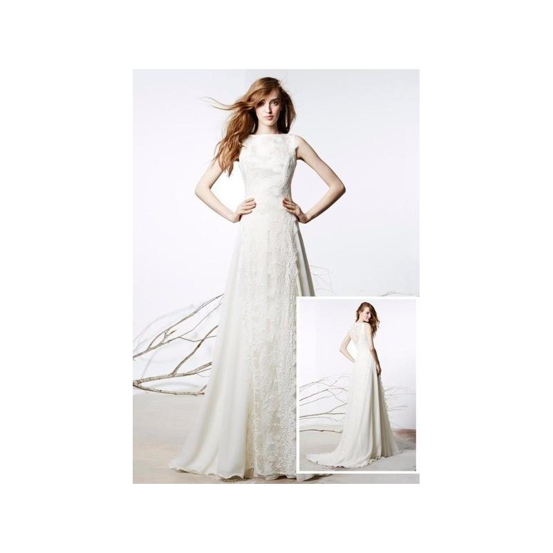 Hochzeit - Vestido de novia de Raimon Bundó Modelo Realeza - 2016 Evasé Otros Vestido - Tienda nupcial con estilo del cordón