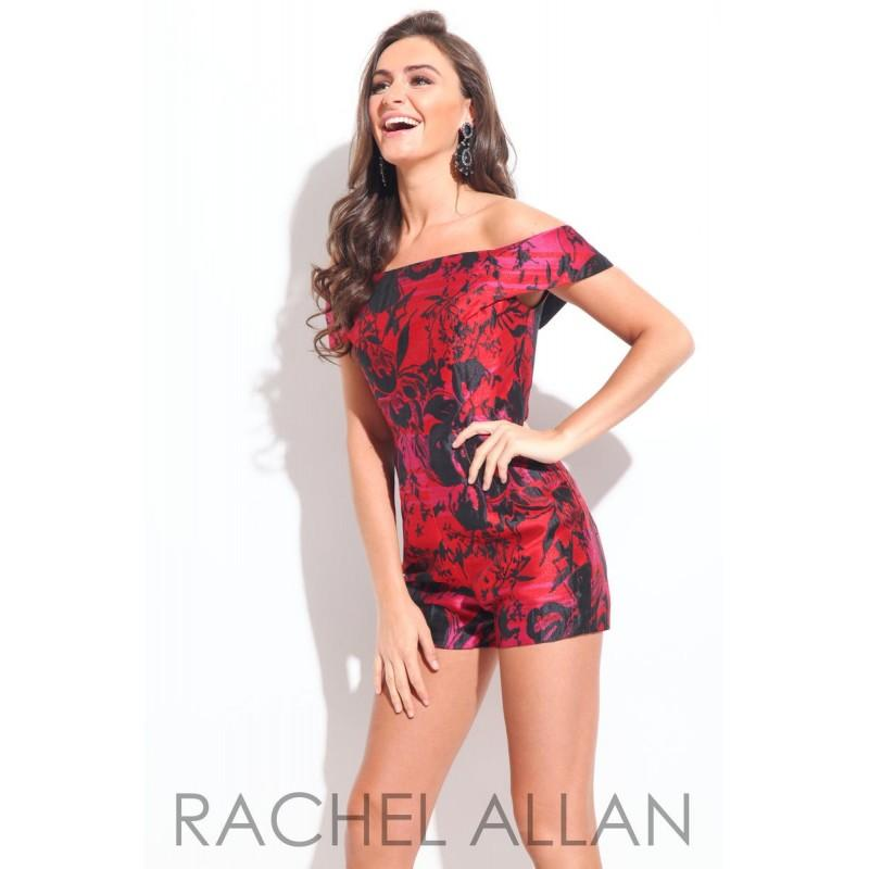 Wedding - Rachel Allan Shorts 4230 Rachel ALLAN Short Prom - Rich Your Wedding Day