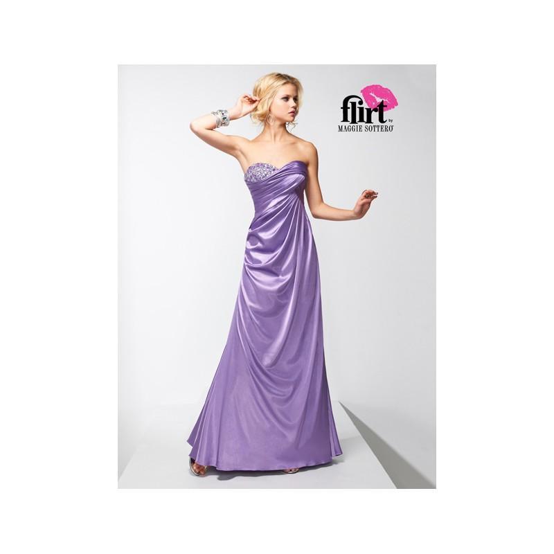 Flirt Prom Dress P1667 - Rosy Bridesmaid Dresses #2836456 - Weddbook