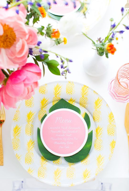 Wedding - DIY Retro Summer Brunch Or Soiree