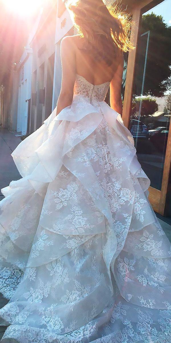 زفاف - 30 Beautiful Wedding Dresses By Top USA Designers