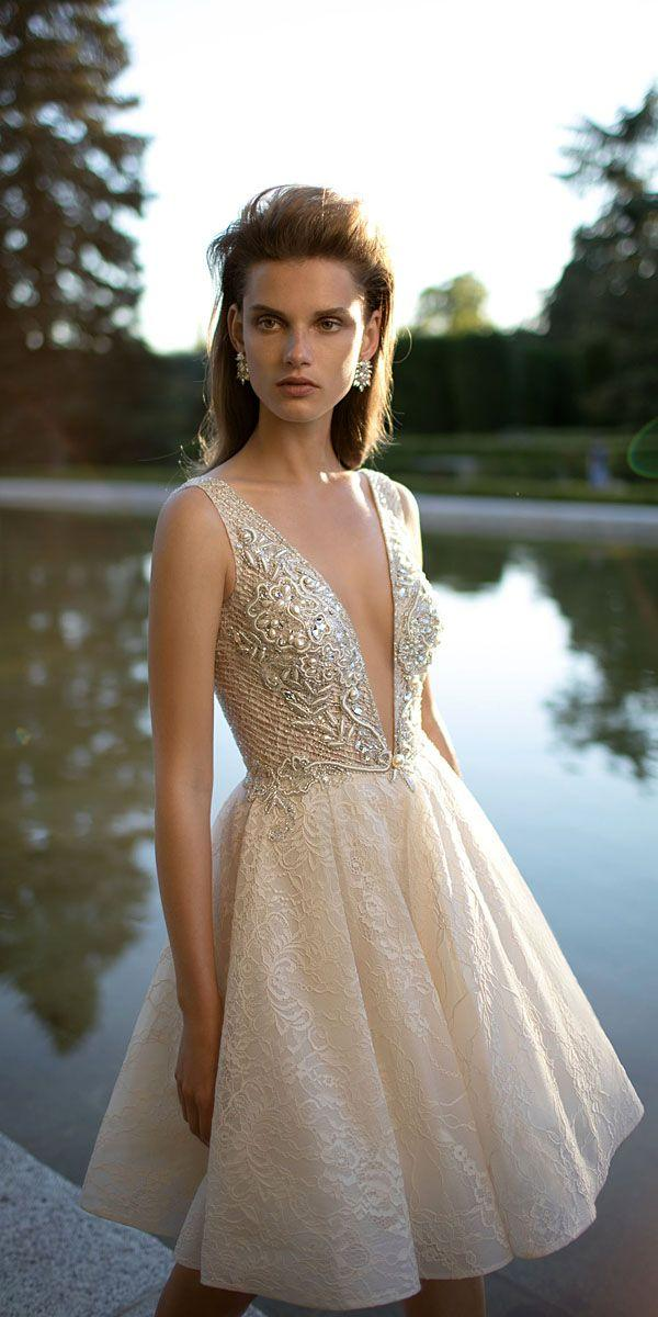 ee07ad77 27 Amazing Short Wedding Dresses For Petite Brides #2837753 - Weddbook