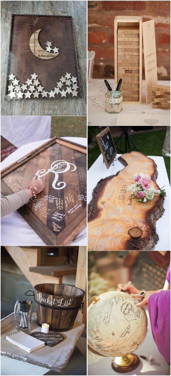 Theme De Mariage 25 Creative Wedding Guest Book Ideas