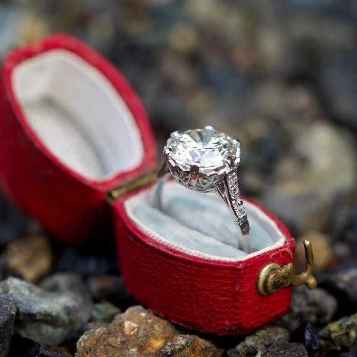 Свадьба - Vintage Engagement Rings