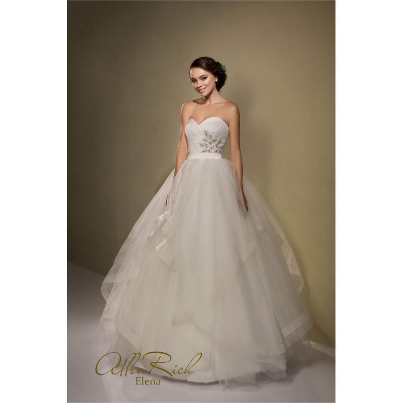 Hochzeit - AllenRich Elena - Royal Bride Dress from UK - Large Bridalwear Retailer