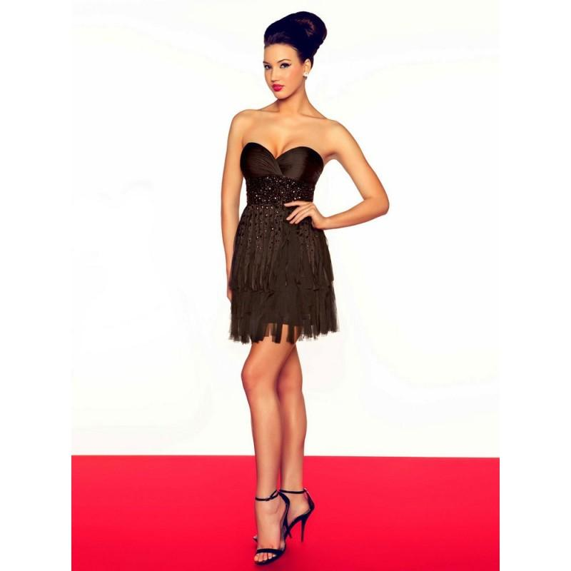 Свадьба - 7149R Mac Duggal Black and White - HyperDress.com