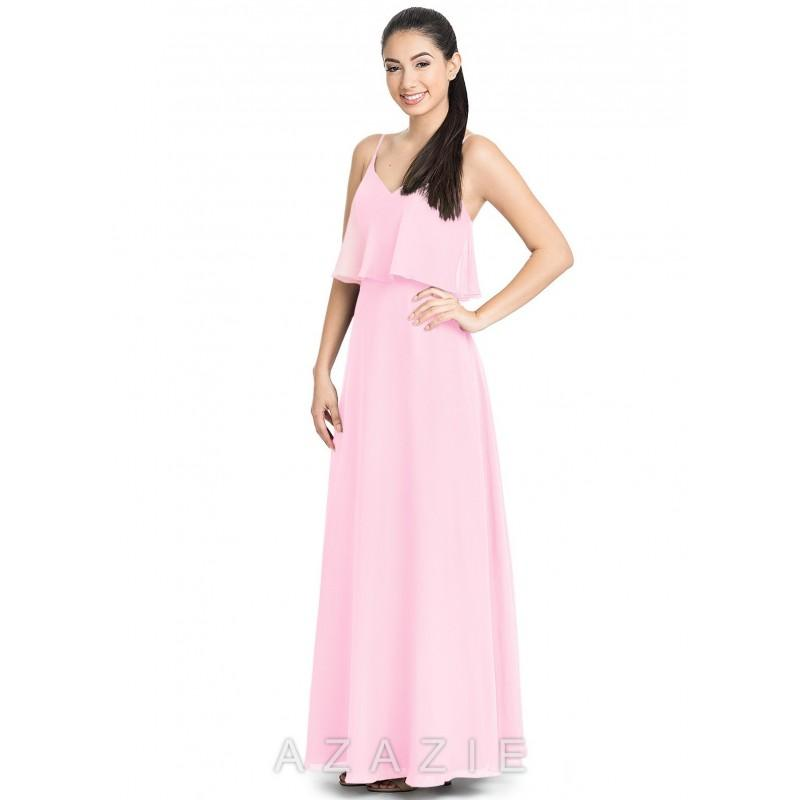 Wedding - Candy_pink Azazie Desiree - Simple Bridesmaid Dresses & Easy Wedding Dresses