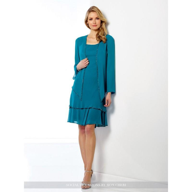 Свадьба - Teal Social Occasions by Mon Cheri 216874 - Brand Wedding Store Online