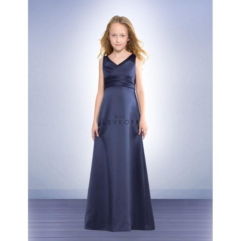 Свадьба - Bill Levkoff Jr. Bridesmaids and Flower Girls 52602 - Rosy Bridesmaid Dresses