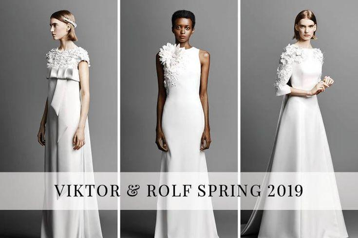 Wedding - Viktor & Rolf Spring 2019