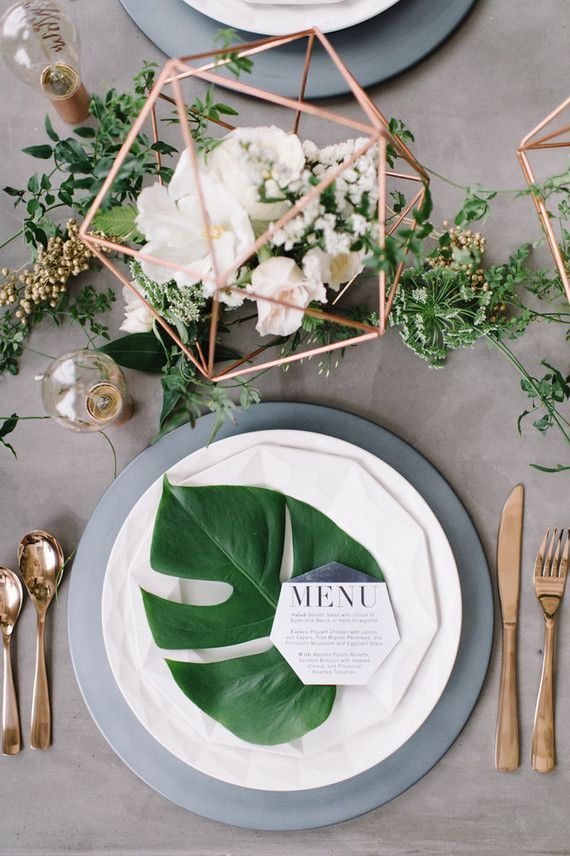 Wedding - 15 Summer Wedding Centerpieces You'll Fall In Love With