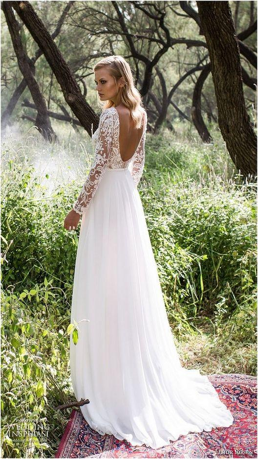 Свадьба - 200  Luxurious Open Back Wedding Dresses For Spring
