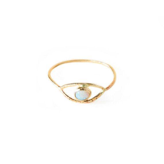 Mariage - Opal Eye Ring