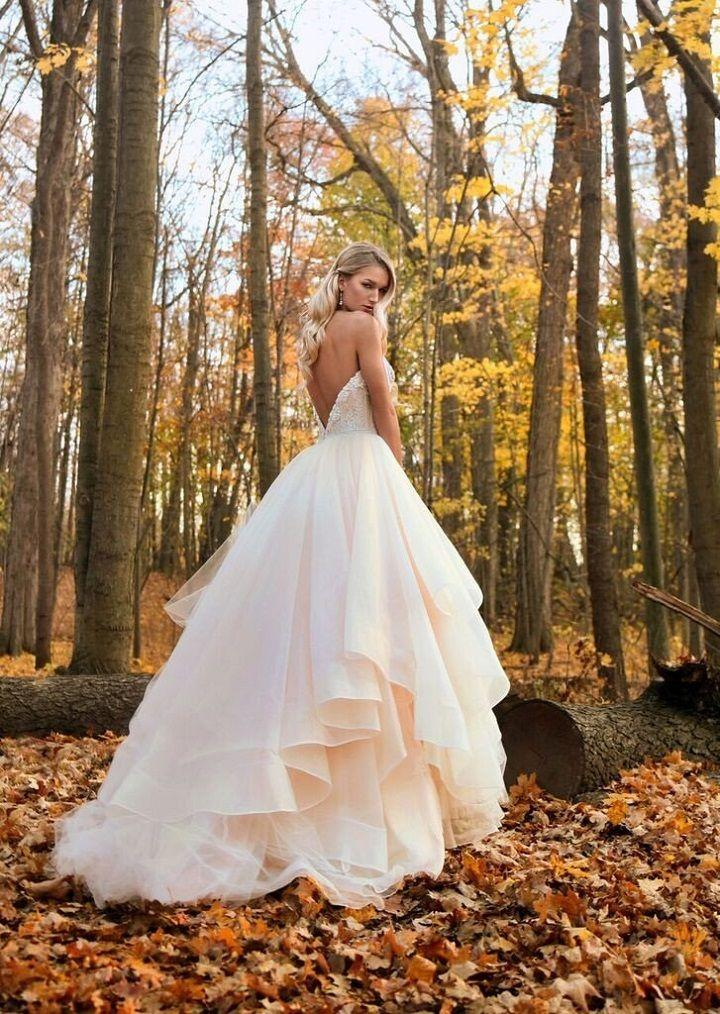 Mariage - Gorgeous Strapless Tulle Ball Gown