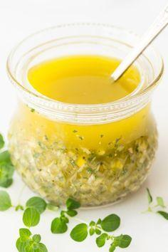 Свадьба - Lemon Oregano Dressing