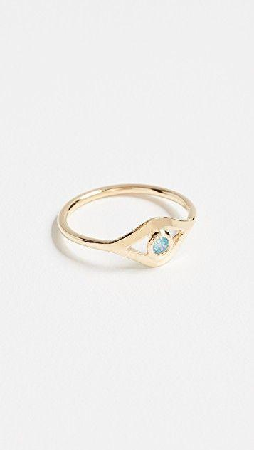 Wedding - CZ Eye Ring