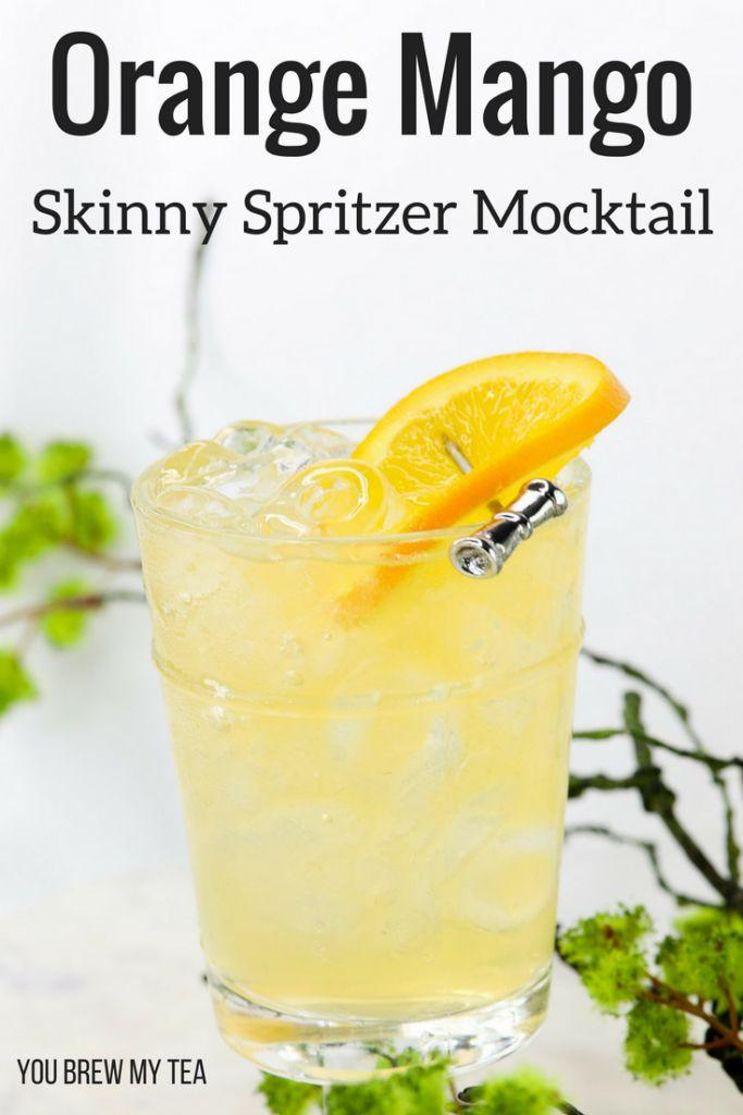 Wedding - Skinny Orange Mango Spritzer Mocktail