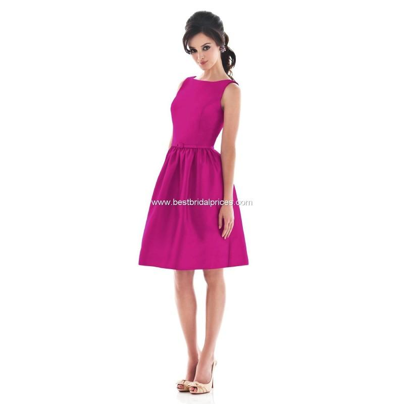 Mariage - Alfred Sung Bridesmaid Dresses - Style D490 - Formal Day Dresses